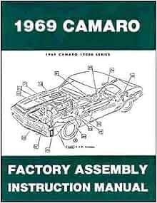 1969 camaro assembly manual download