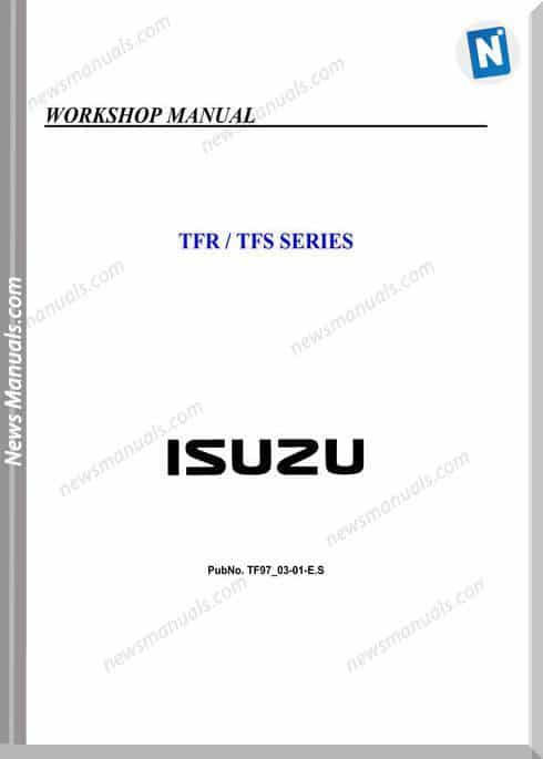 1997 isuzu rodeo manual pdf