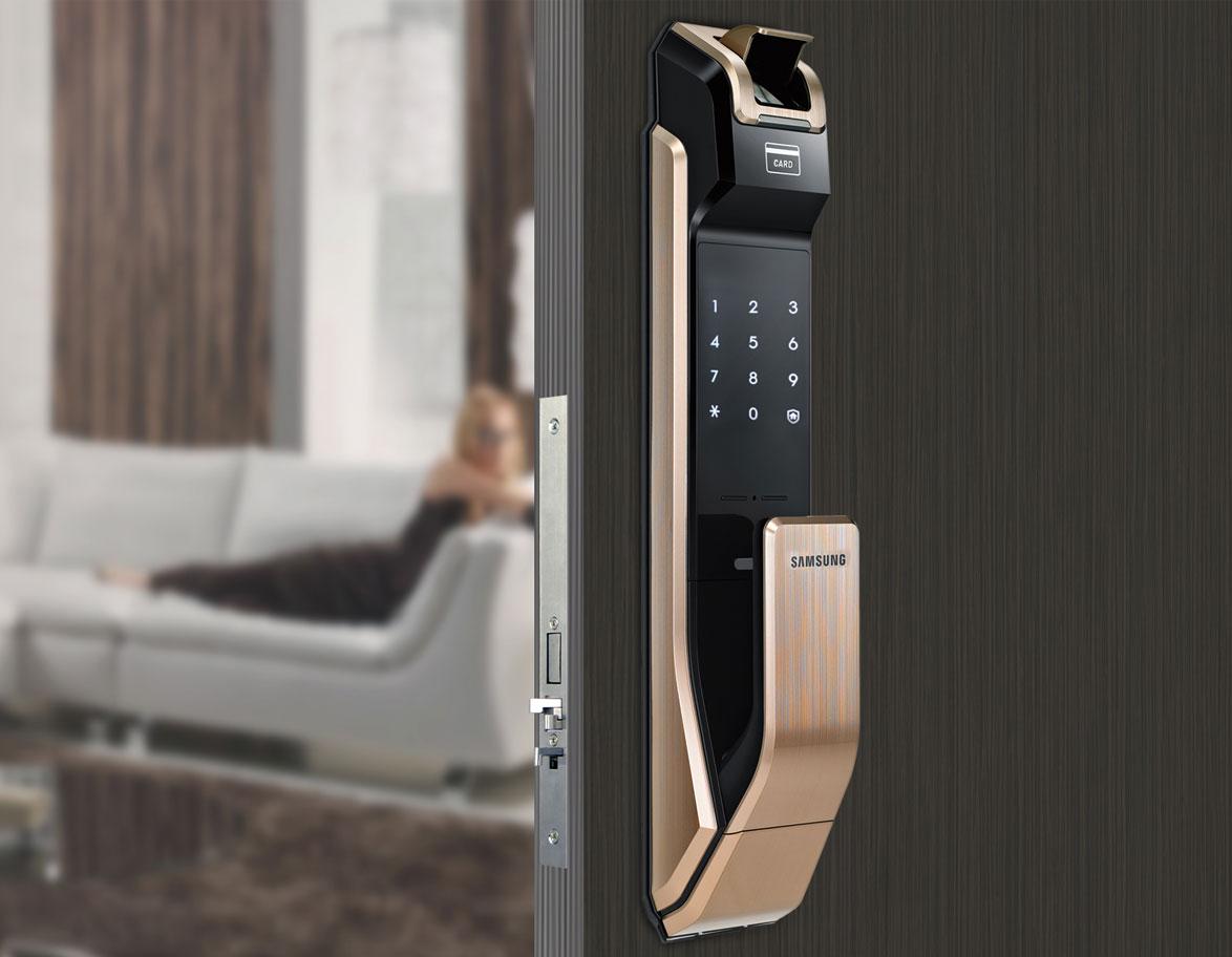 samsung door lock shs p718 manual