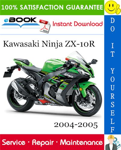 2005 kawasaki zx10r service manual download
