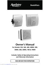 aprilaire model 110 service manual