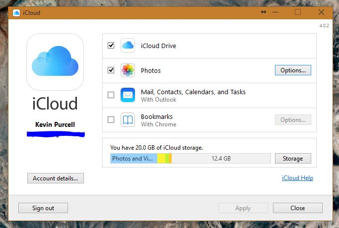 how to manually download photos from icloud to windows