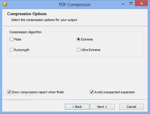 compress pdf file size manually