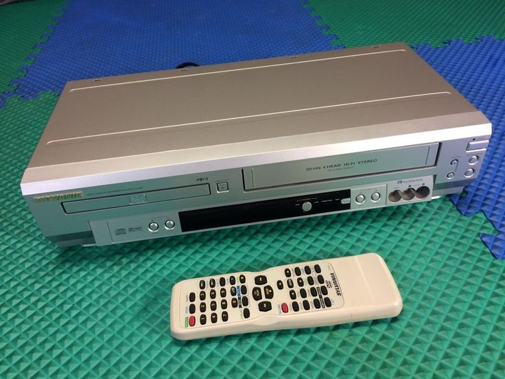 owner manual for sylvania vcr dvd combo model srd3900