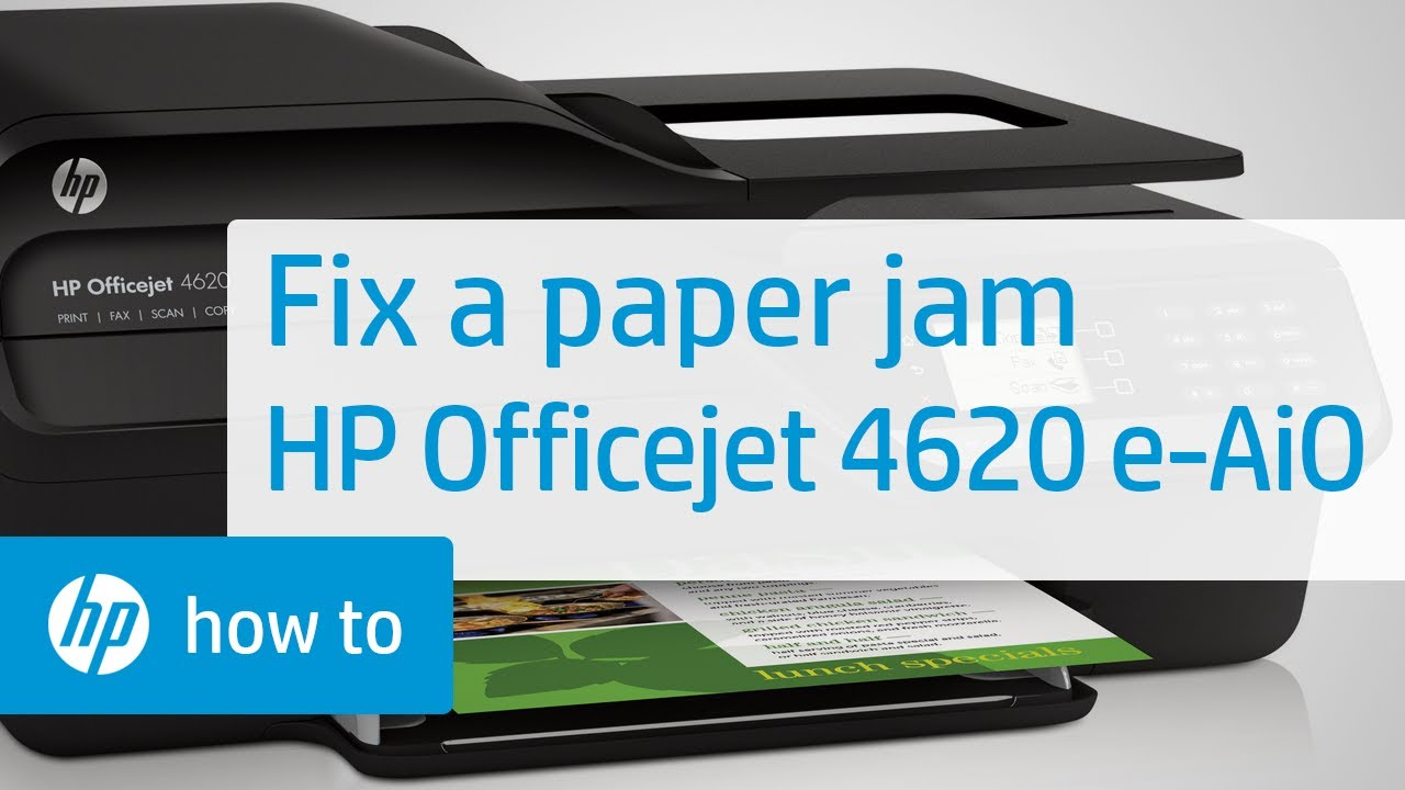 hp envy 4500 manual paper jam