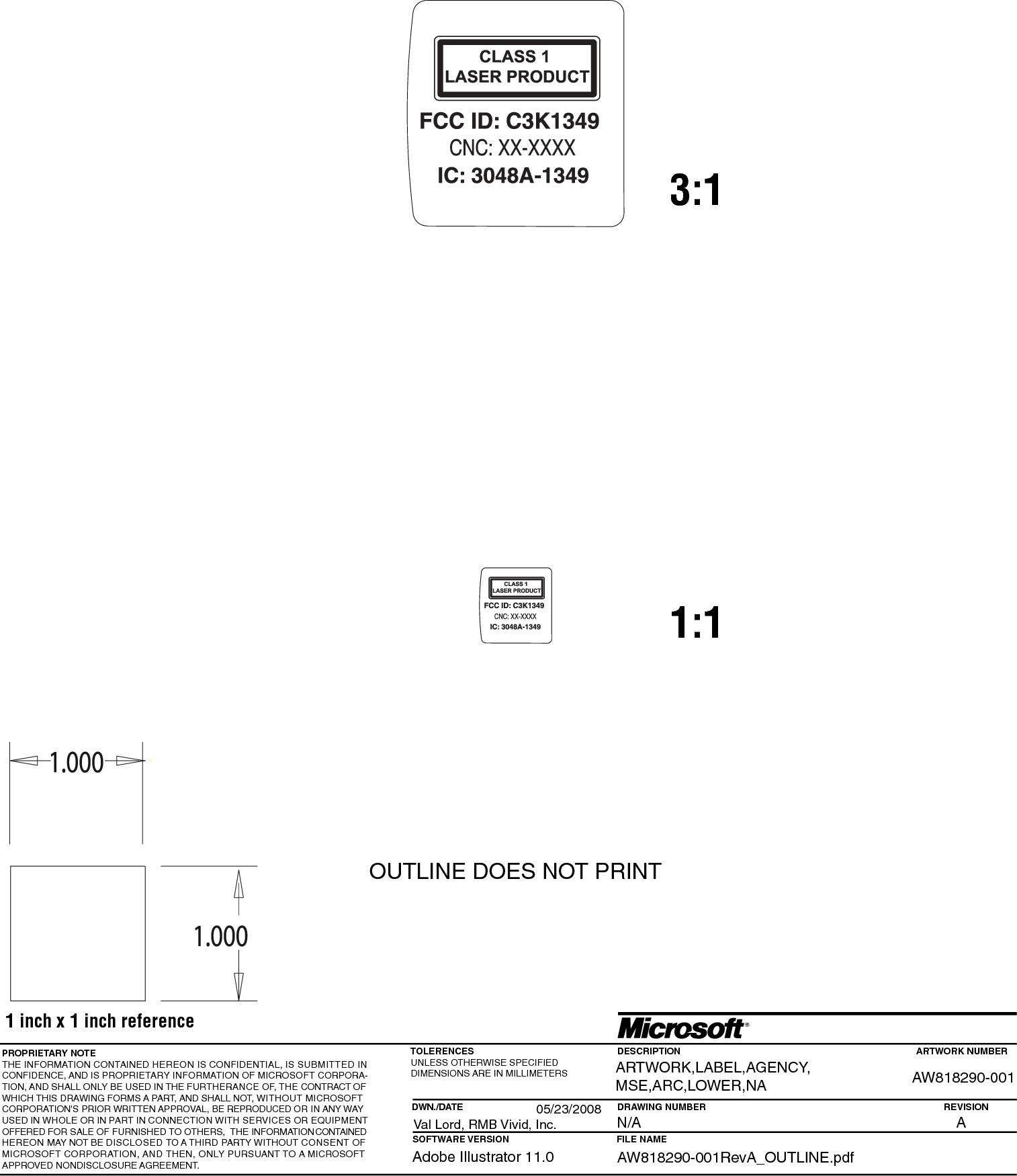 microsoft arc mouse model 1349 manual