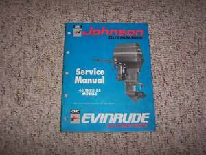 johnson 40 hp outboard service manual free