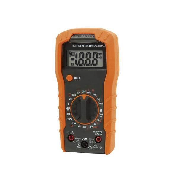 klein tools manual ranging digital multimeter model mm300