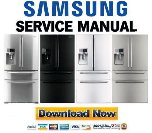 samsung fridge model rf4287hars manual