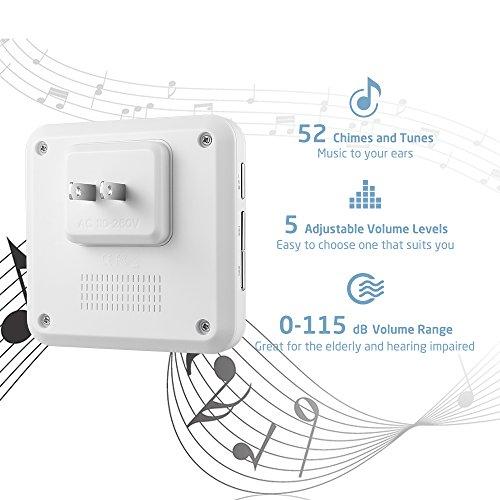 physen model cw waterproof wireless doorbell users manual
