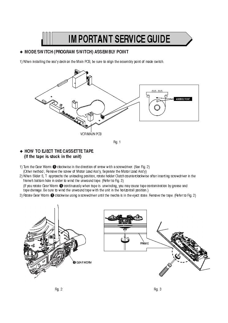 samsung dvd v5500 service manual