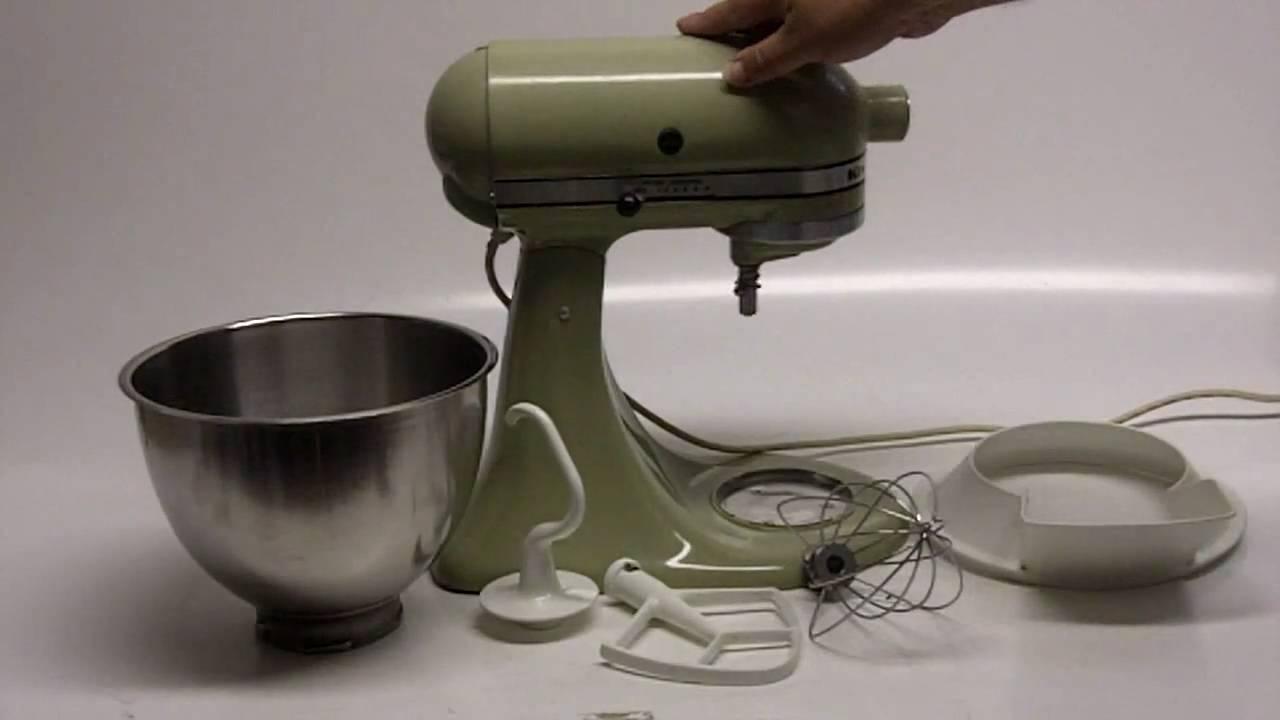 kitchenaid mixer model k45 manual