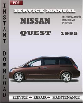 2007 nissan quest factory service manual download