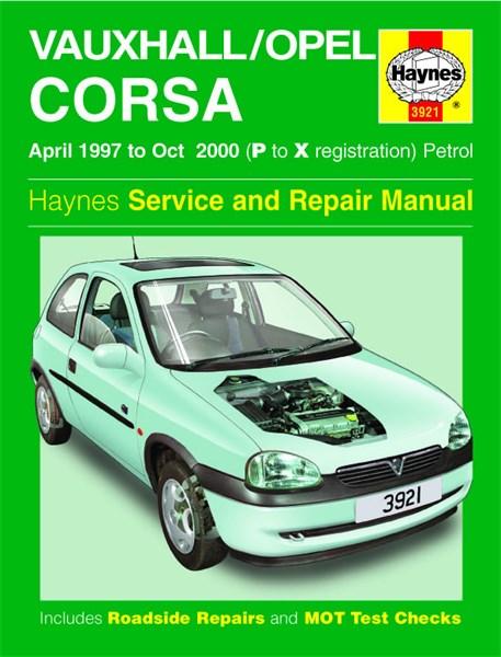 vauxhall corsa haynes manual pdf
