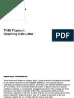 ti 89 titanium manual download