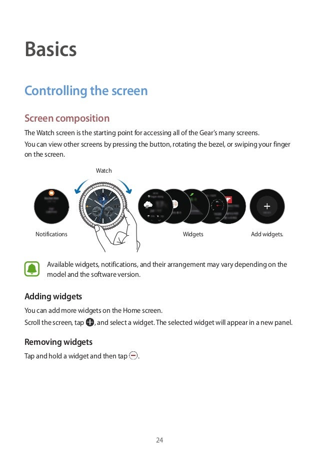 samsung gear s3 pdf manual