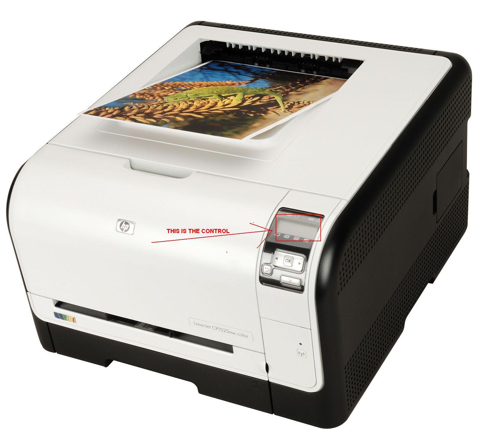 hp laserjet cp1525nw manual feed