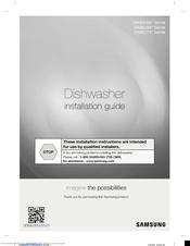 samsung dishwasher dw80k5050us installation manual