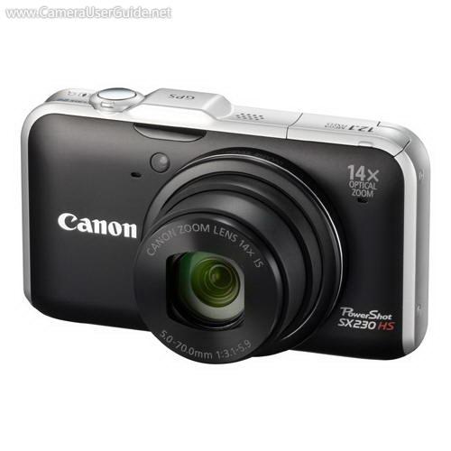 canon powershot sx230 hs manual free download