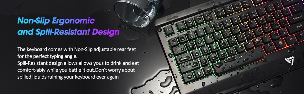 victsing gaming keyboard model pc149a user manual