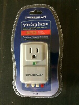 chamberlain surge protector model clss1 manual