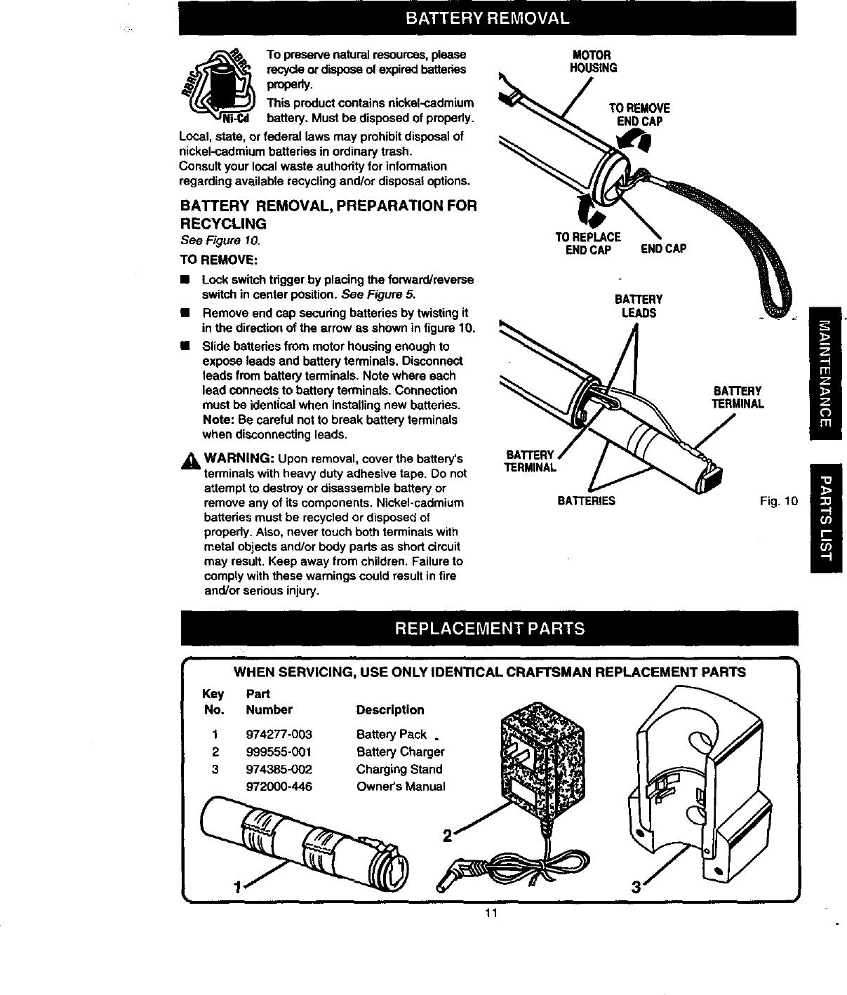 craftsman cordless screwdriver model 315 manual