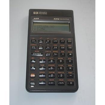 hp rpn scientific calculator manual
