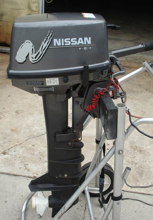 nissan 18 hp outboard manual