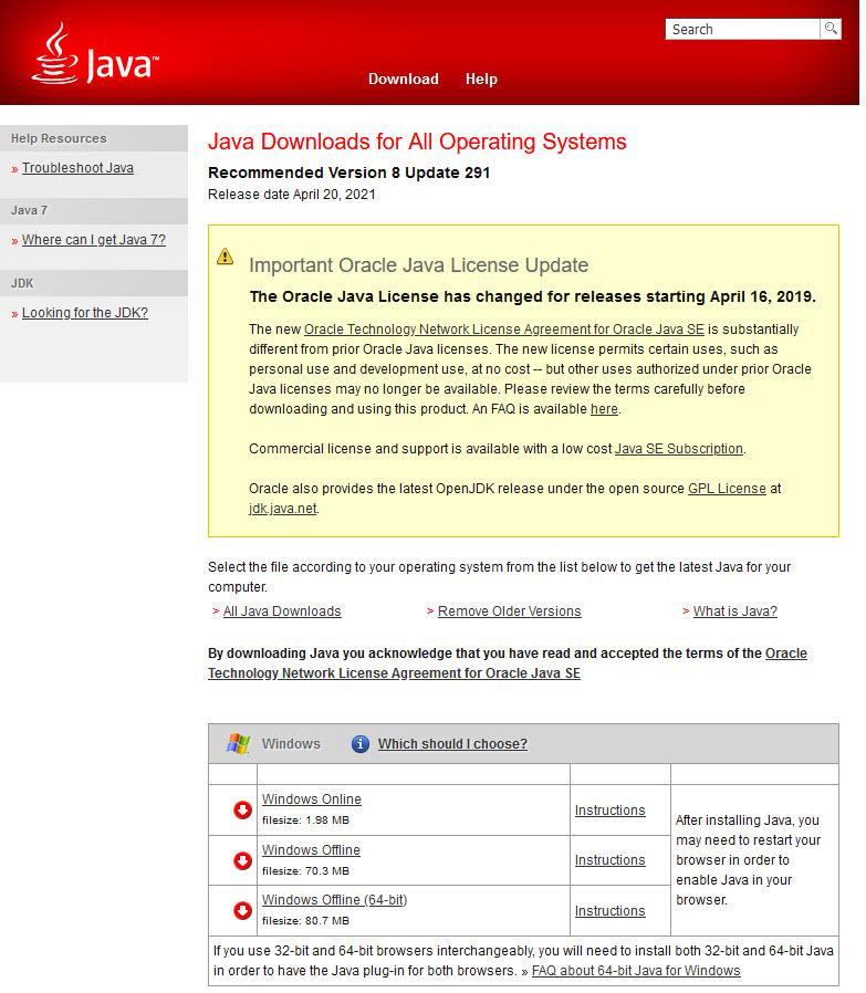 download manual update mse 64 bit