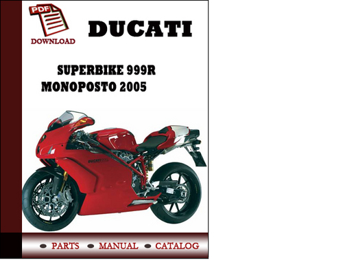 ducati 999 workshop manual free download