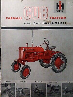 farmall cub manual free download