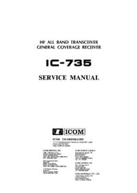 icom ic-735 service manual download
