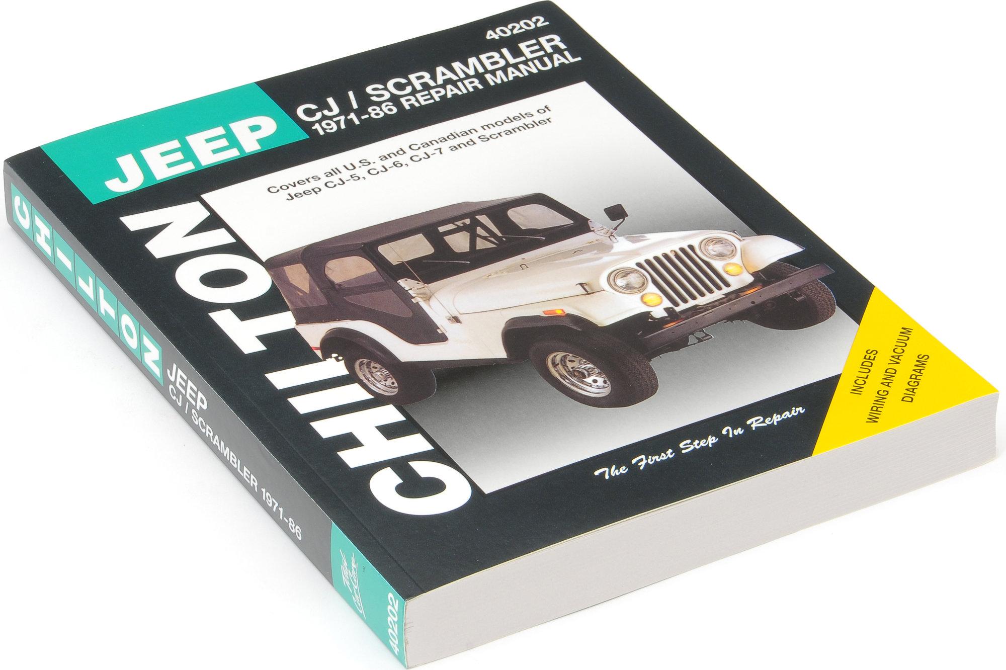 jeep cj5 repair manual pdf
