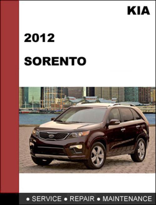 kia sorento 2006 oem factory service repair manual download