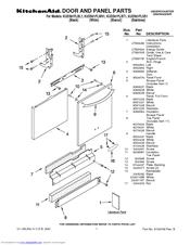 kitchenaid dishwasher model kdte204dss manual