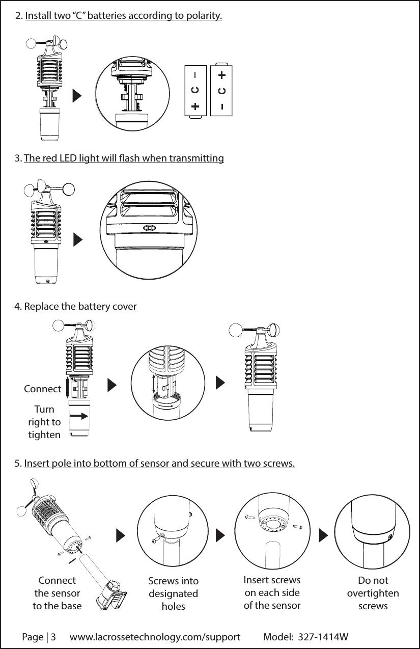 la crosse weather station model c83100 manual