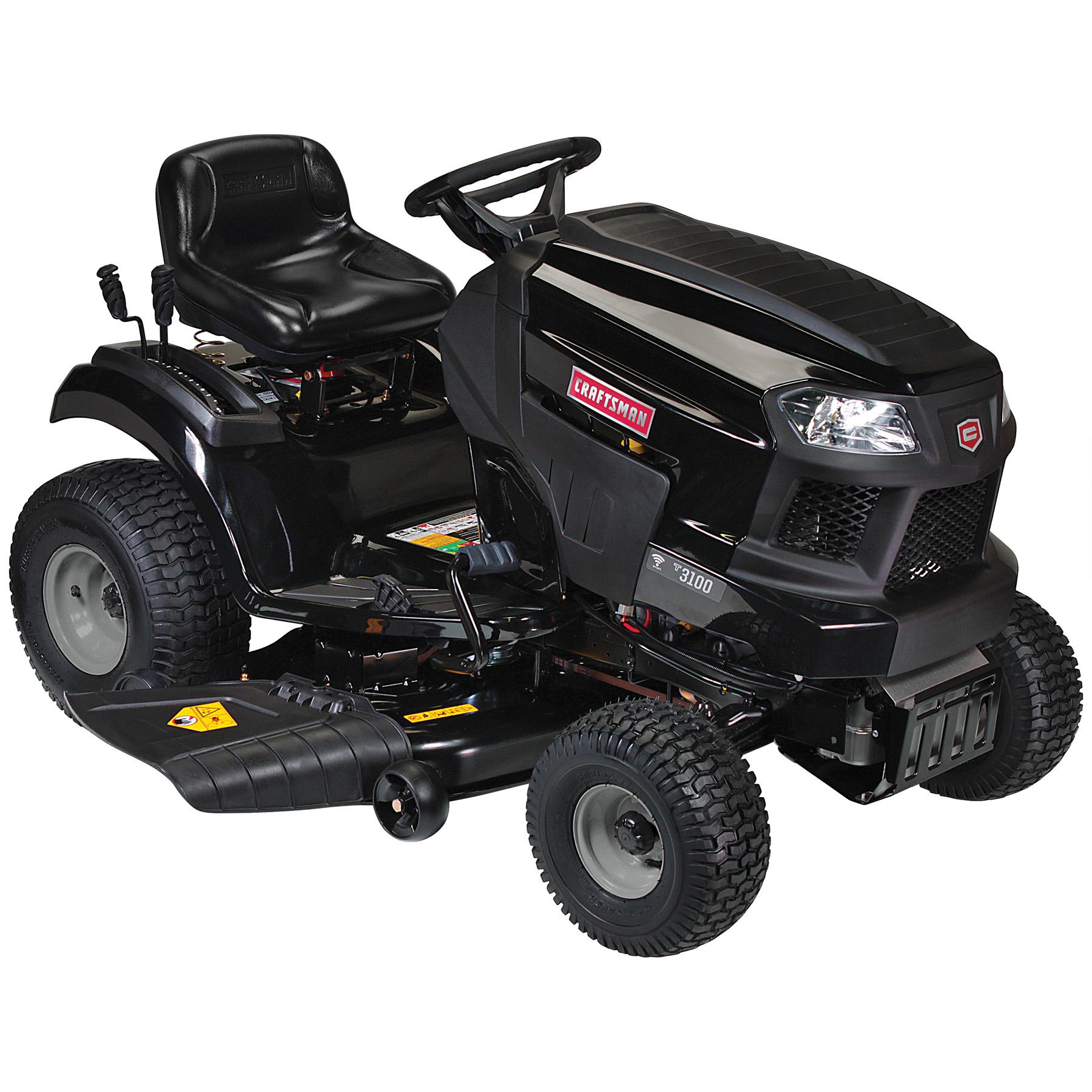 manual craftsman lt 1000 21.5 hp rider mower