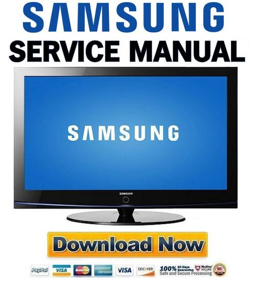 samsung 52 plasma tv manual