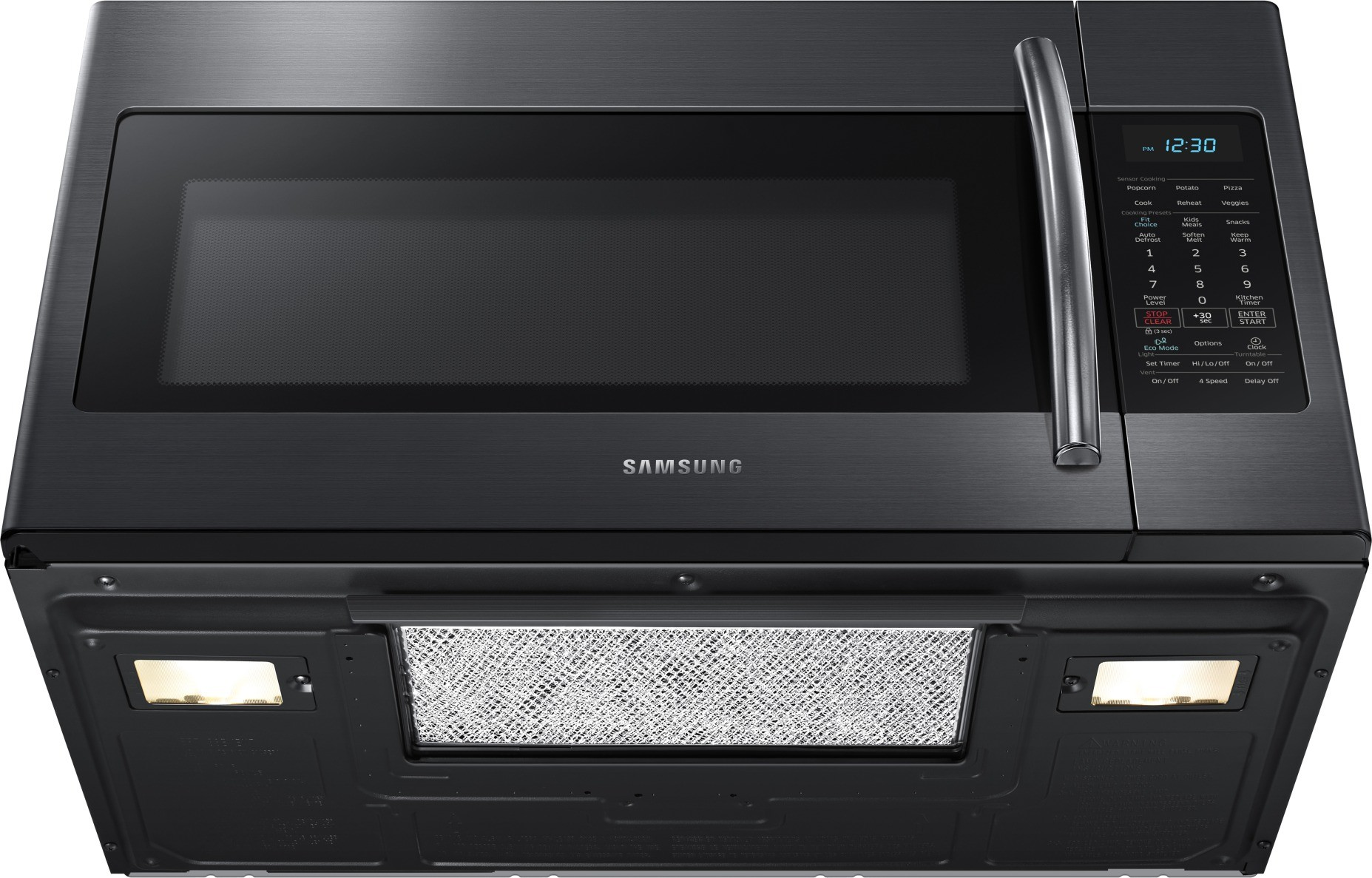 samsung microwave me18h704sfg installation manual