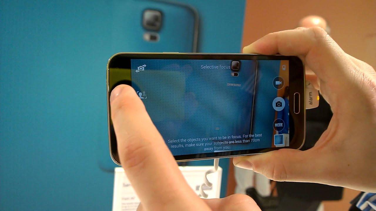 samsung s5 camera manual focus