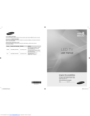 samsung series 8 8500 manual