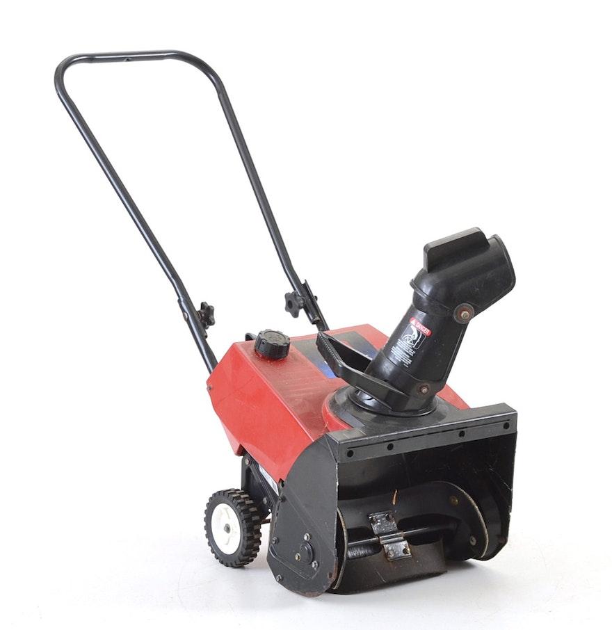 toro powerlite-e 3 hp snow blower manual