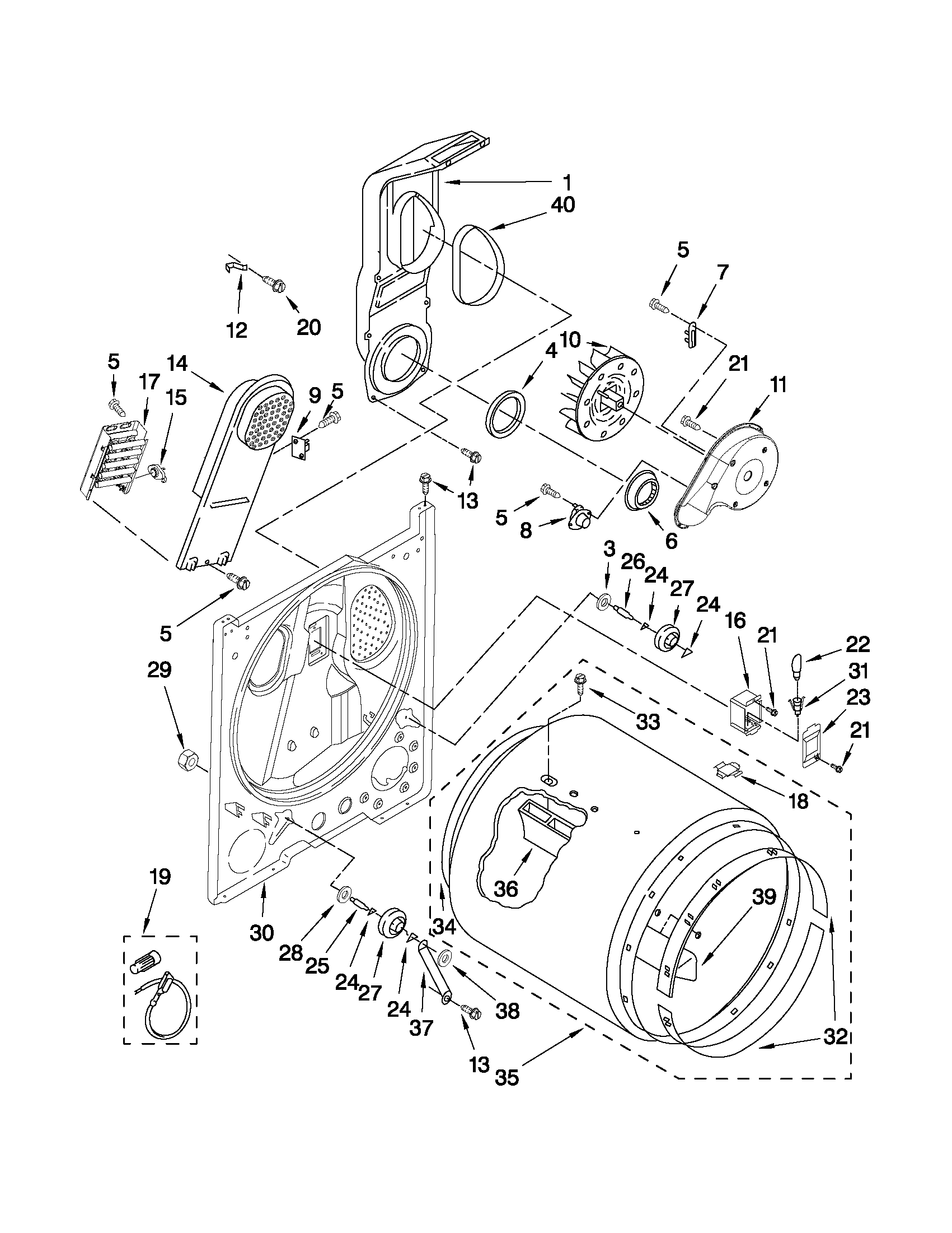 whirlpool dryer model wed4800xq1 manual